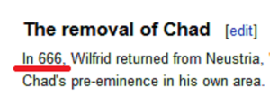 removal of Chad
